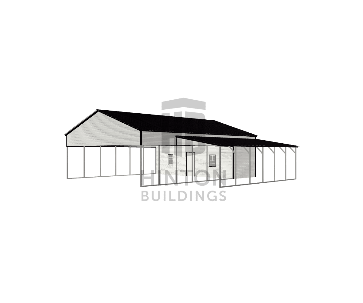 Jonathan from Clayton, NC designed this 30,12x40,30x11,8 building with our 3D Building Designer.