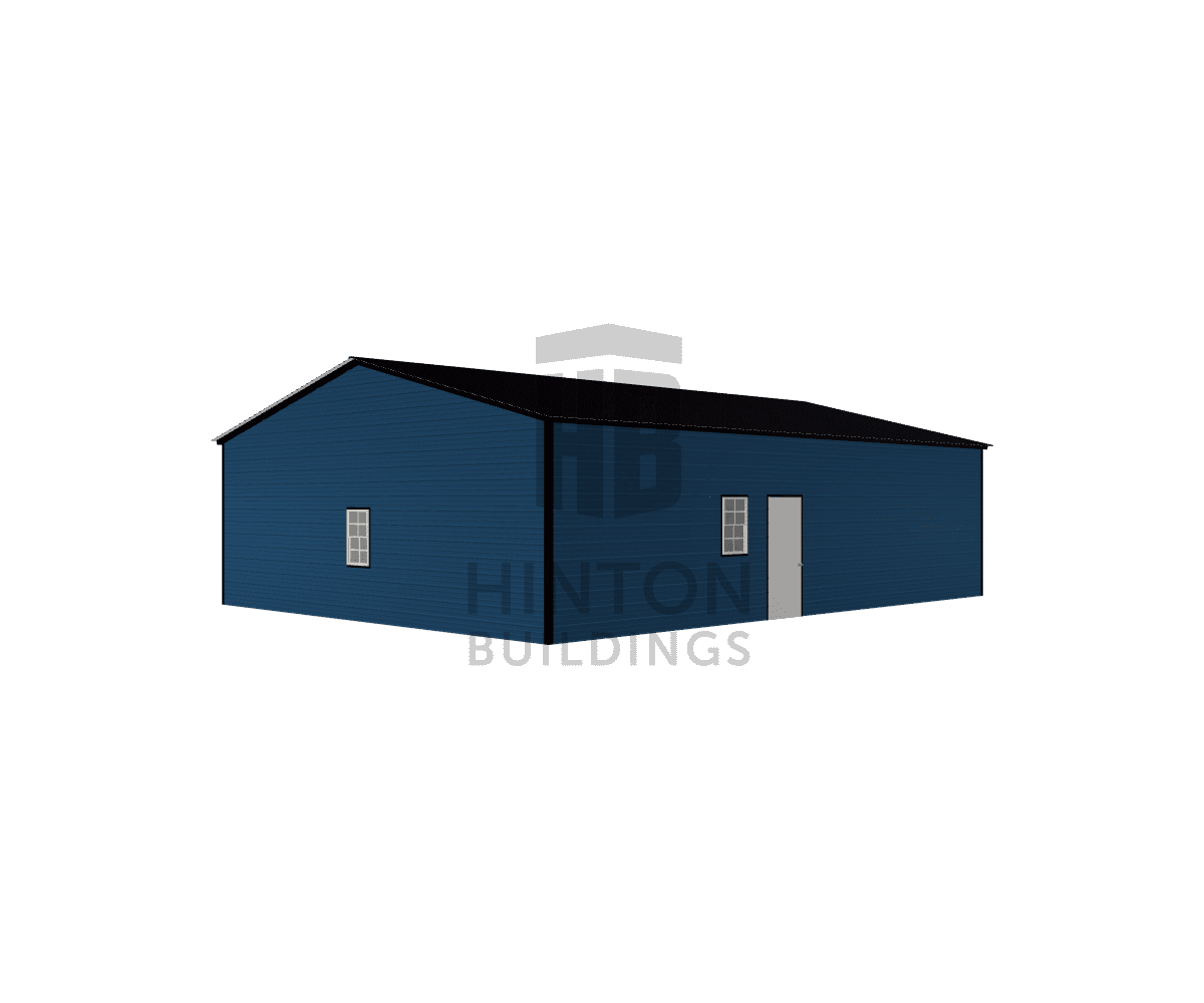 Michael from Goldsboro, NC designed this 30x40x10 building with our 3D Building Designer.