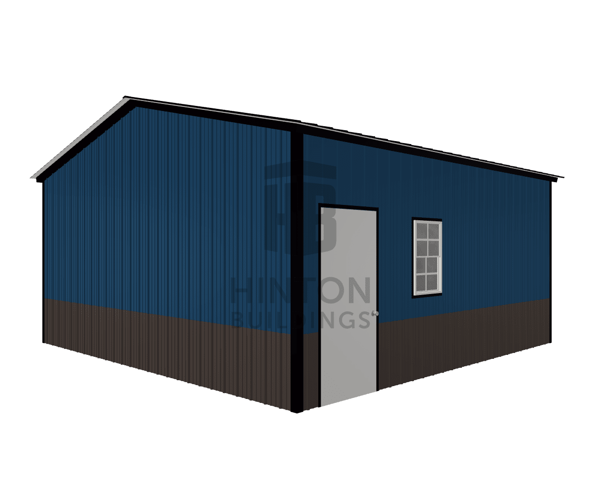 Bryan from Clayton, NC designed this 20x20x9 building with our 3D Building Designer.