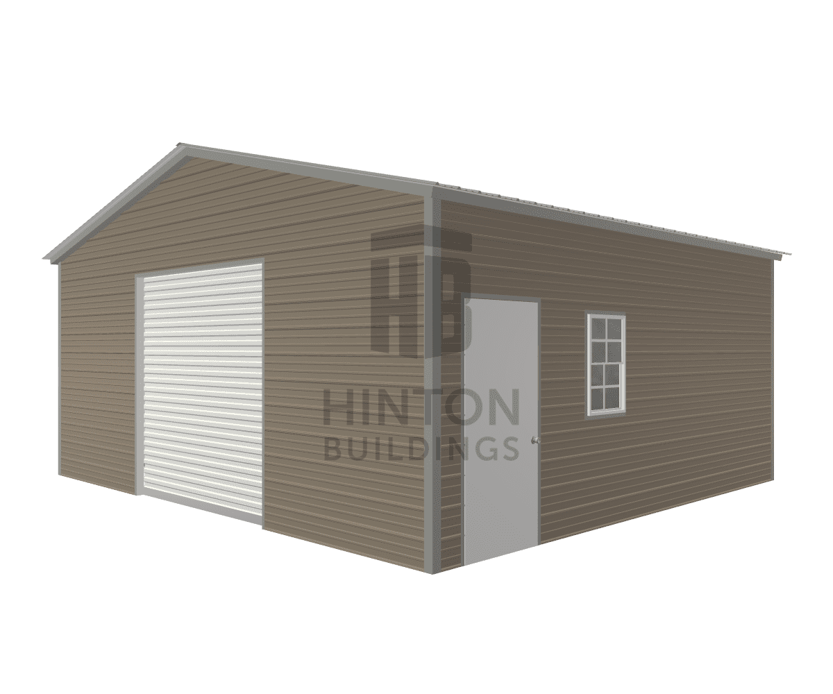 Brian from Wilson, NC designed this 22x20x9 building with our 3D Building Designer.
