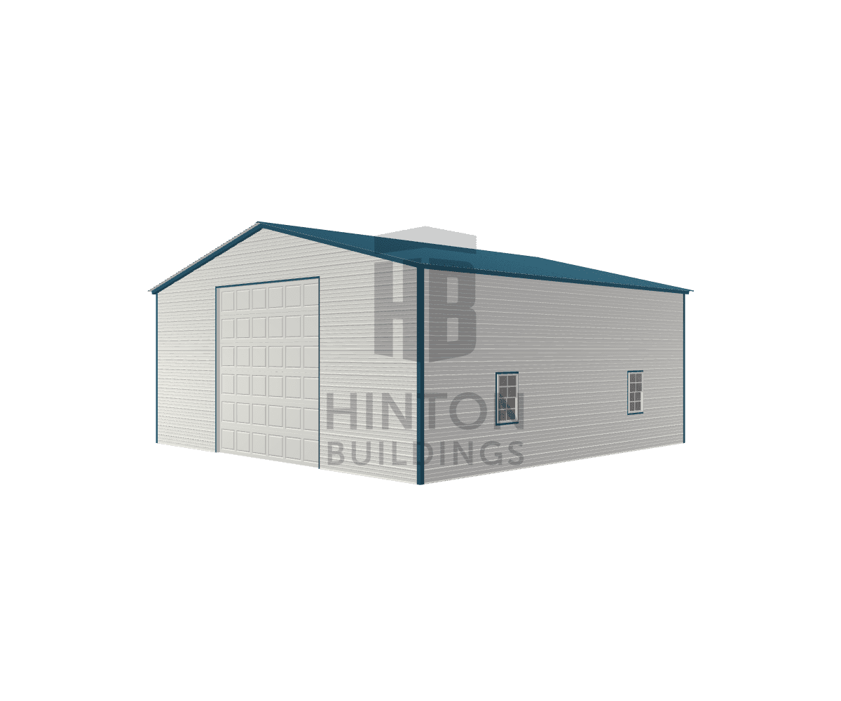 Jonathan from Clayton, NC designed this 30x30x12 building with our 3D Building Designer.