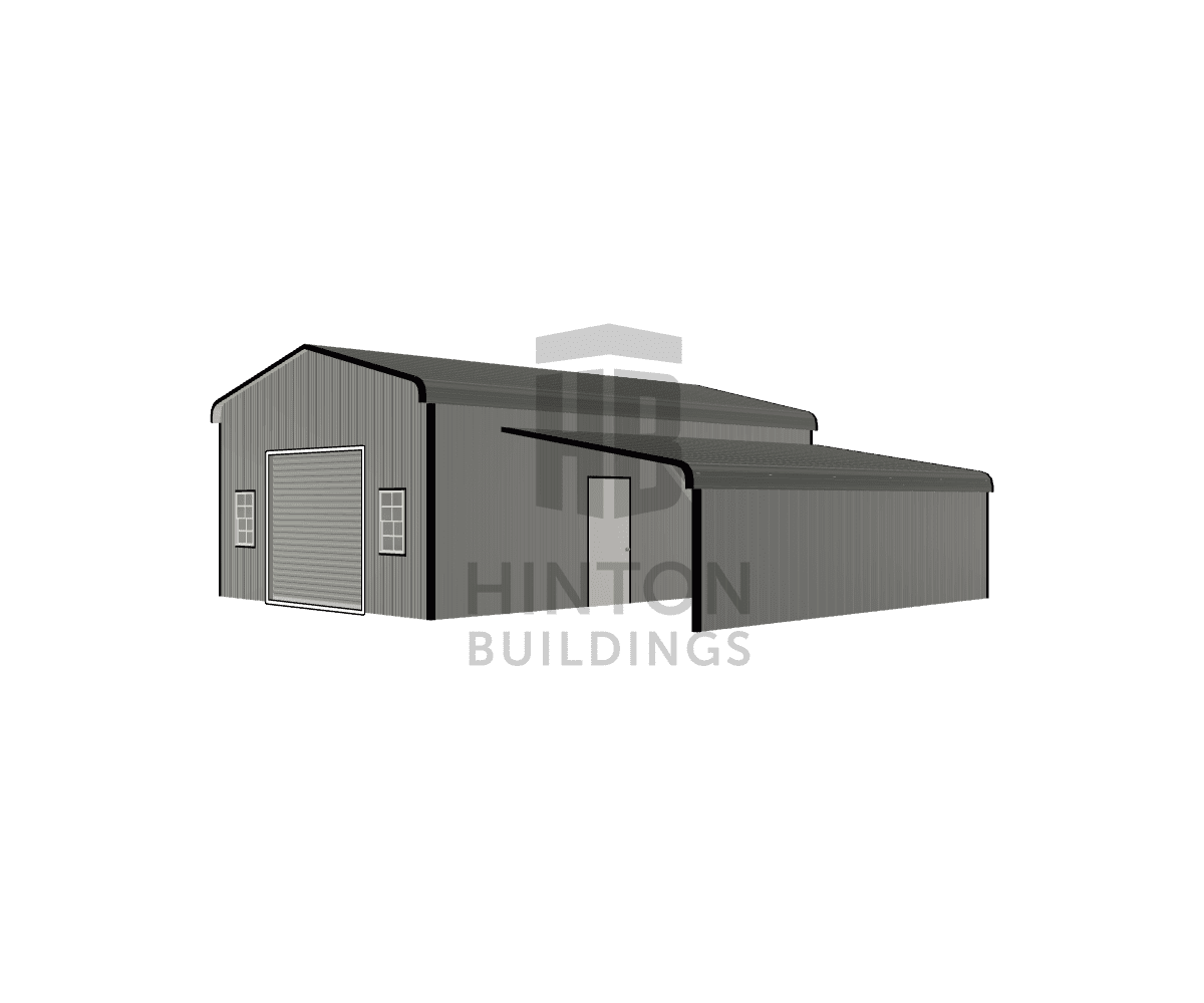 James from Smithfield, NC designed this 20,12x30,25x10,6 building with our 3D Building Designer.
