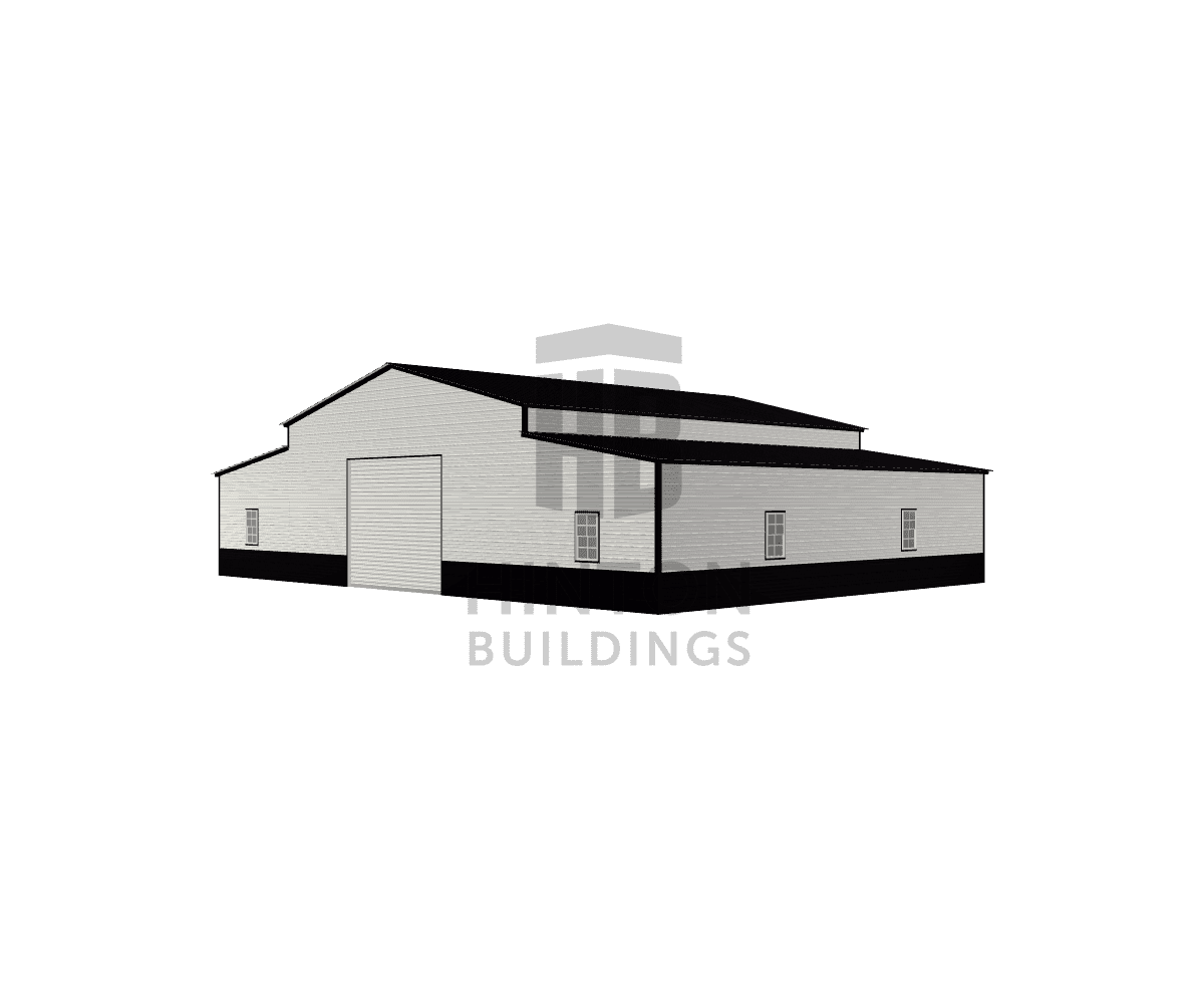 Jim from Blounts Creek, NC designed this 30,12,12x40,40,40x13,9,9 building with our 3D Building Designer.