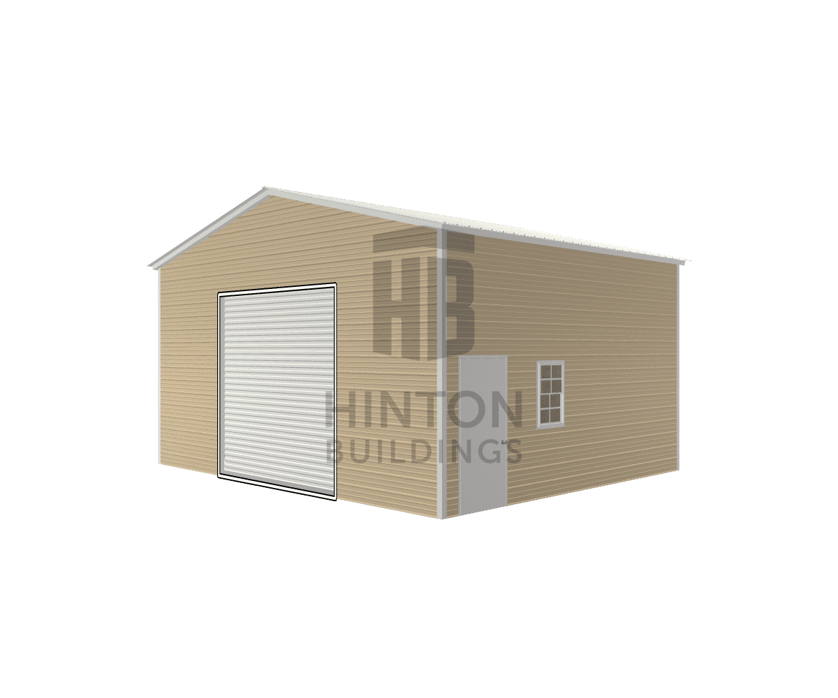 Robin from Middlesex, NC designed this 24x20x12 building with our 3D Building Designer.