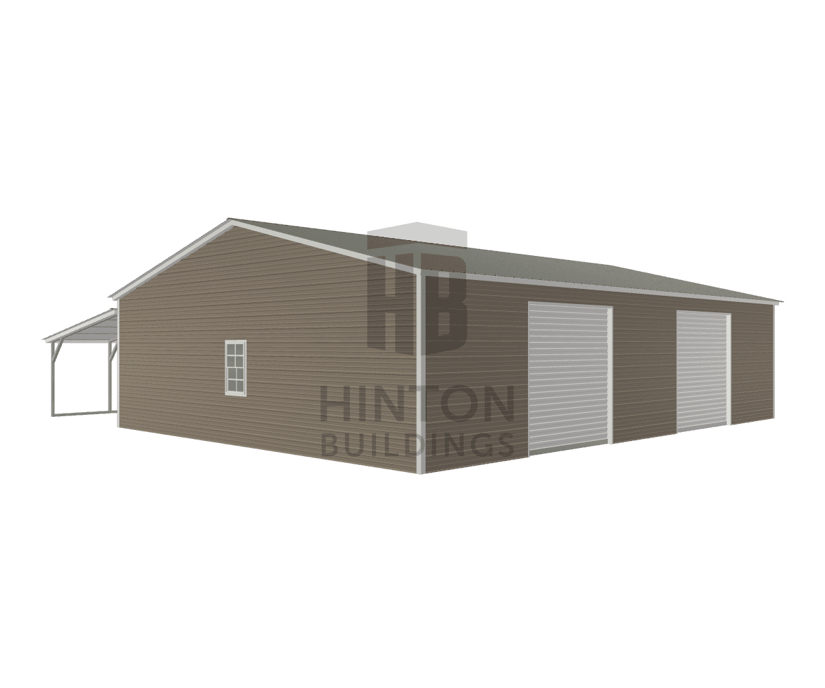 Danny from Newton Grove, NC designed this 30,12x40,40x9,6 building with our 3D Building Designer.
