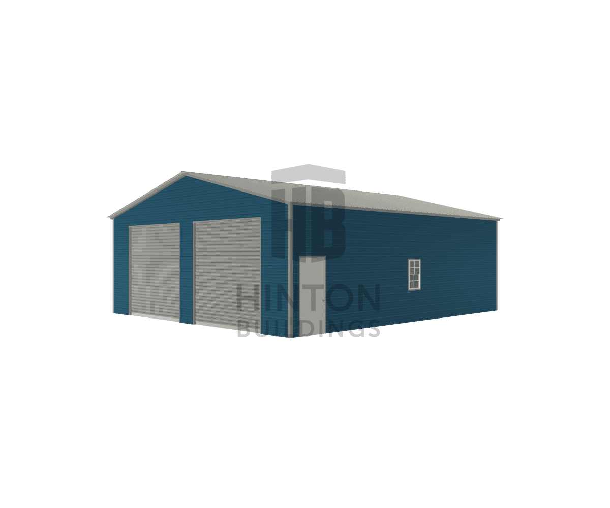 Brenda from Claidge, NC designed this 30x35x11 building with our 3D Building Designer.