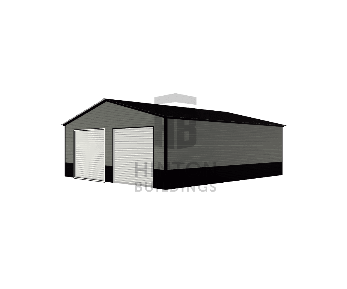 Tonio from leland, NC designed this 26x30x9 building with our 3D Building Designer.