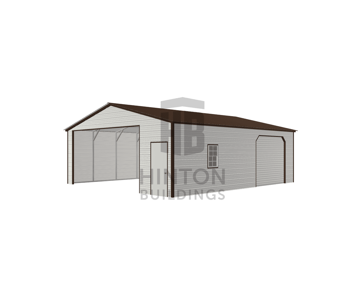 Kent from Willow Springs, NC designed this 26x30x9 building with our 3D Building Designer.