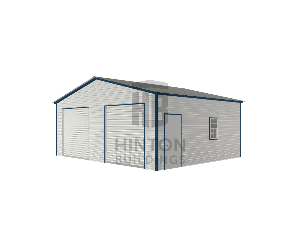 Rodney from Goldsboro, NC designed this 24x20x9 building with our 3D Building Designer.