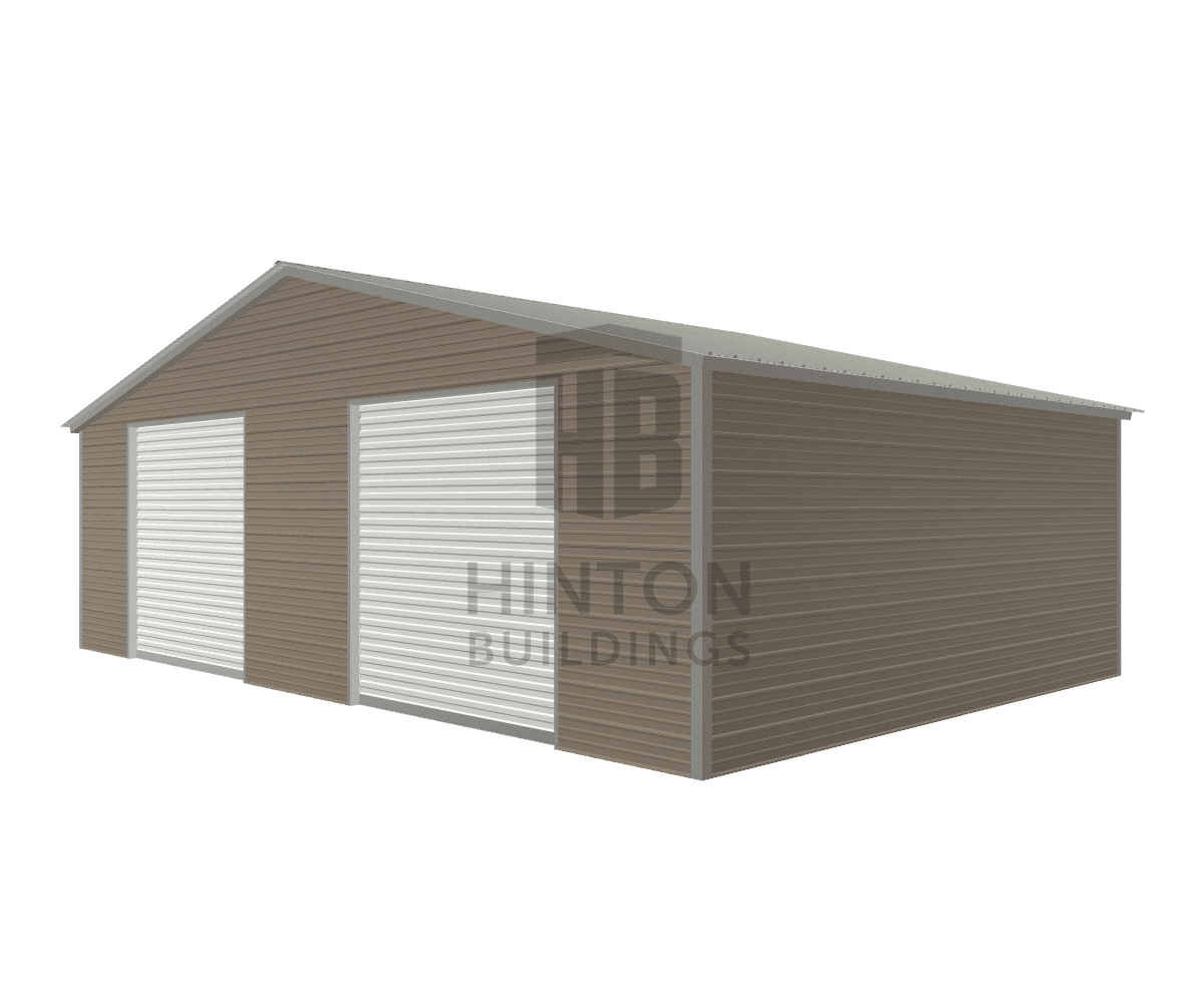 Bernard from Benson, NC designed this 30x20x8 building with our 3D Building Designer.