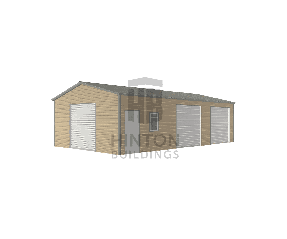 Ryan from Goldsboro, NC designed this 20x35x9 building with our 3D Building Designer.