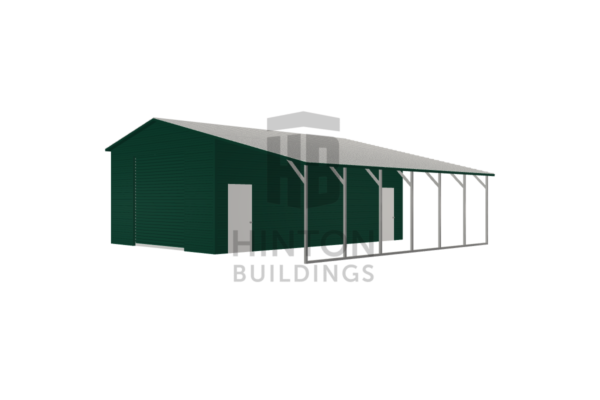 Ian from Front Royal, VA designed this 20,12x30,30x11,8 building with our 3D Building Designer.
