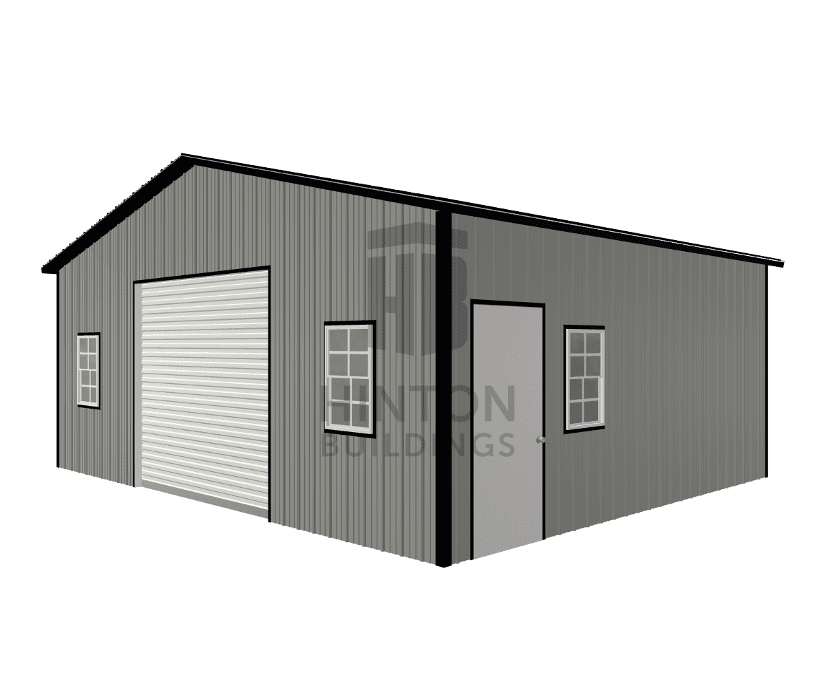 Dave from BENSON, NC designed this 24x20x9 building with our 3D Building Designer.