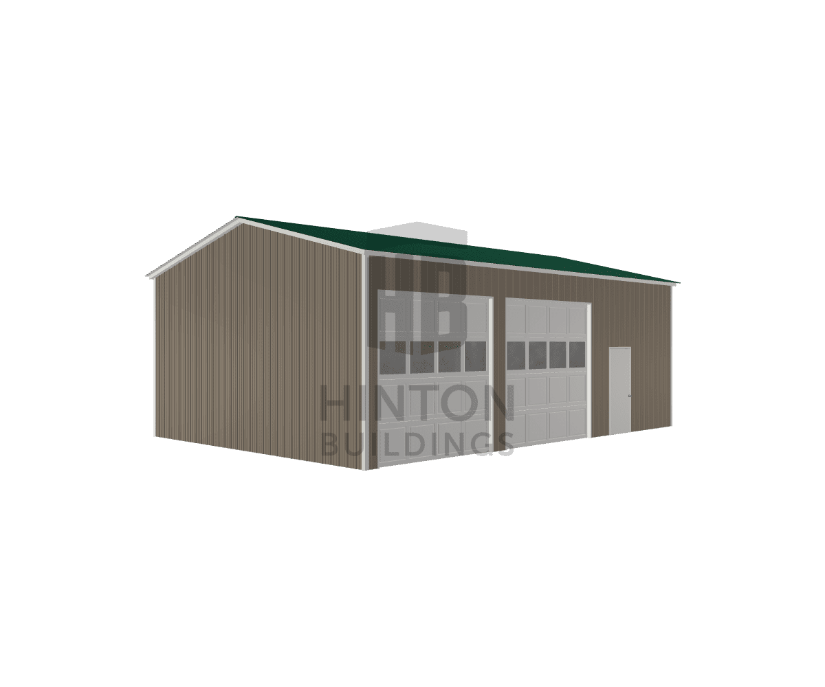 Bill from angier, NC designed this 24x35x12 building with our 3D Building Designer.