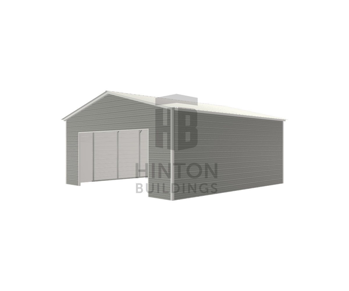 paul from Spring Hope, NC designed this 24x25x10 building with our 3D Building Designer.
