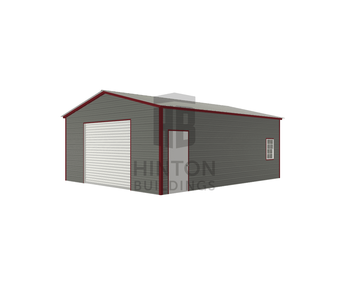 Stephen from Bladenboro, NC designed this 20x25x9 building with our 3D Building Designer.