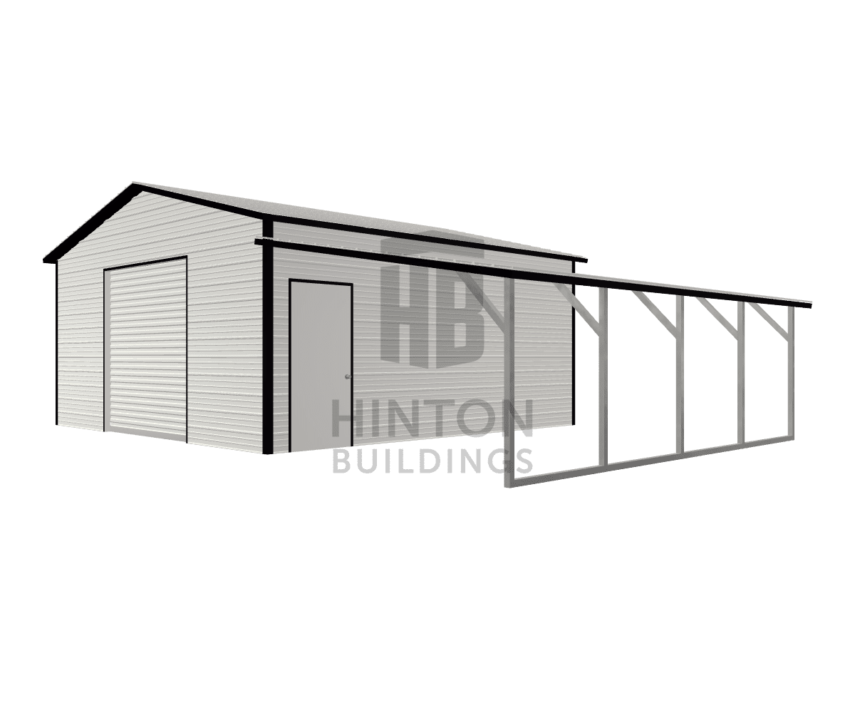 Ryan from Lucama, NC designed this 20,12x20,20x9,6 building with our 3D Building Designer.
