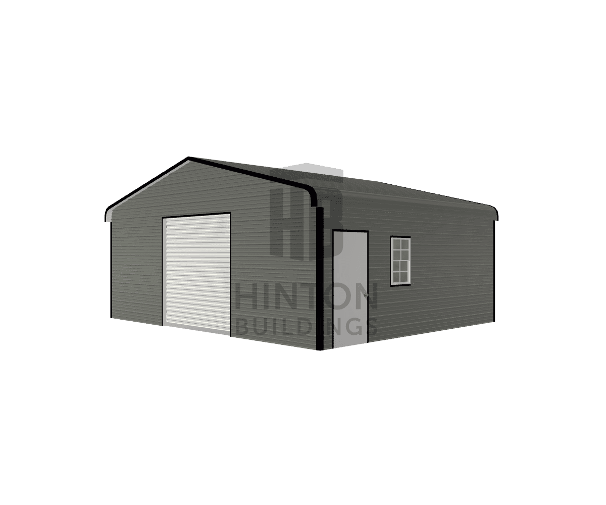 Cody from MOUNT OLIVE, NC designed this 24x20x8 building with our 3D Building Designer.