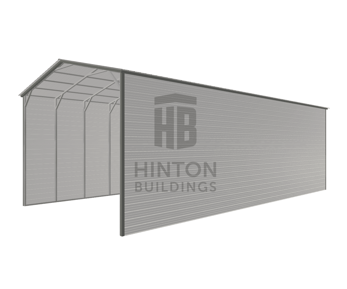Kevin from Dunn, NC designed this 24x50x16 building with our 3D Building Designer.