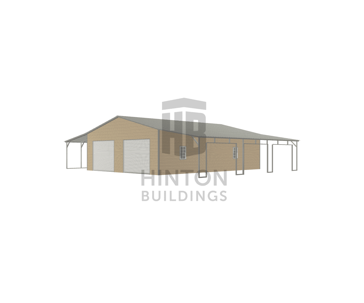 josh from ahoskie, NC designed this 30,12,12x40,40,40x10,8,8 building with our 3D Building Designer.