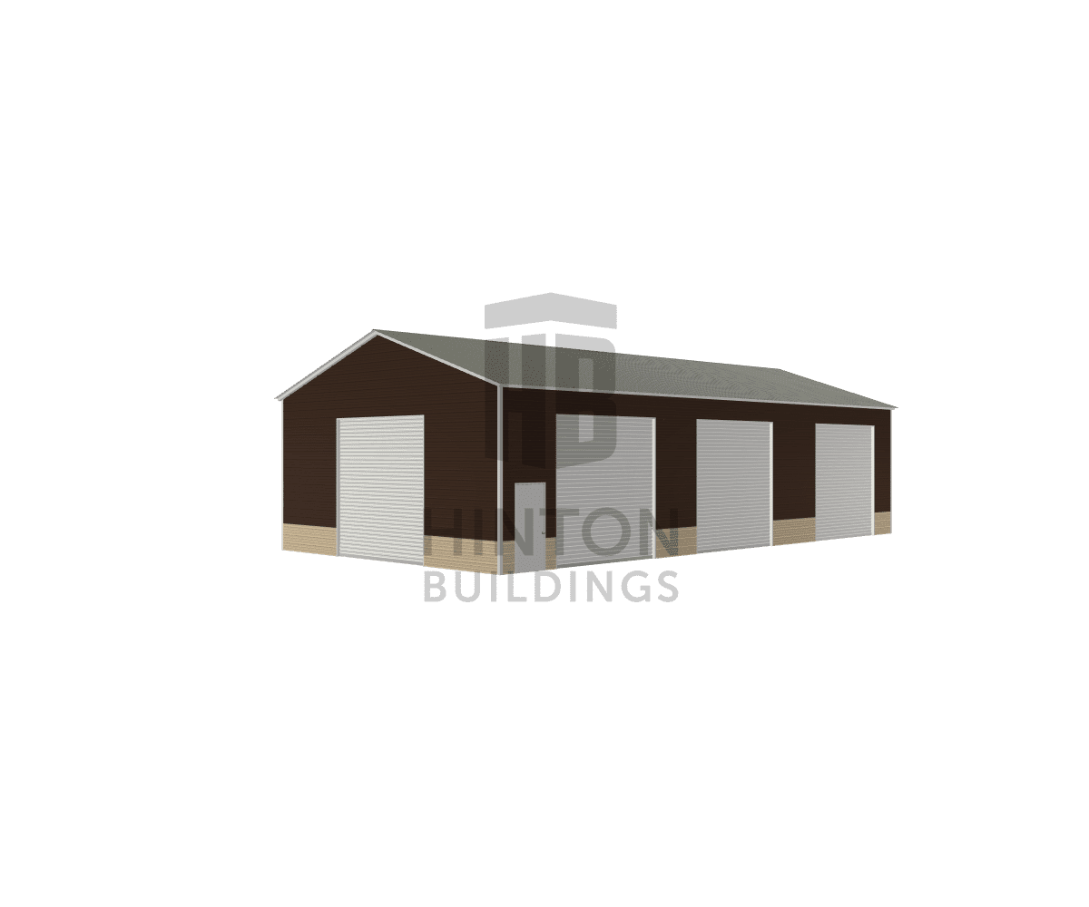 Stan from Smithfield, NC designed this 30,18x60,40x14,9 building with our 3D Building Designer.