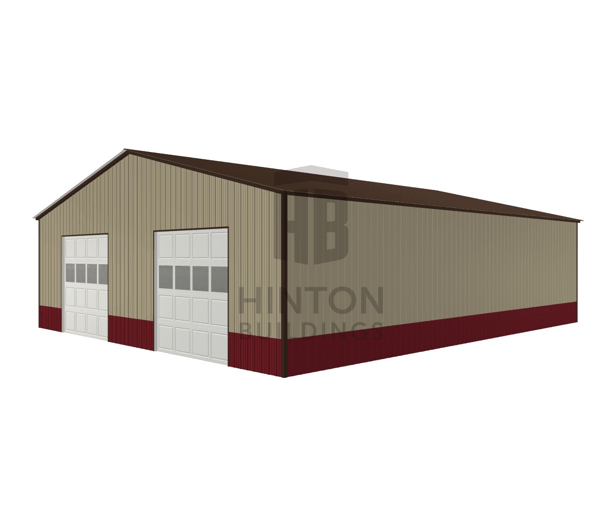 James from Hope Mills, NC designed this 40x48x12 building with our 3D Building Designer.