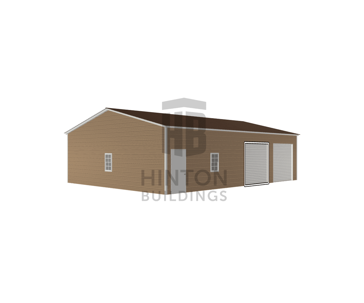 Jeffrey from Goldsboro, NC designed this 30x40x10 building with our 3D Building Designer.