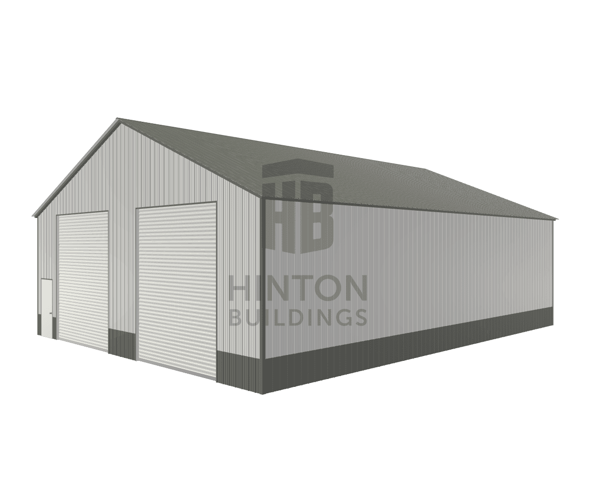 Dustin from Dunn, NC designed this 40x52x14 building with our 3D Building Designer.