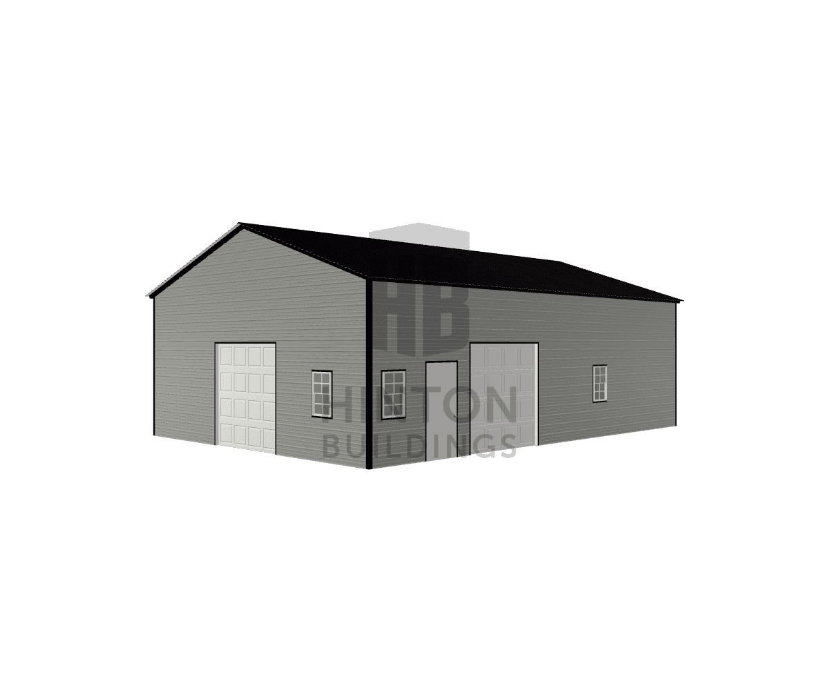 Mark from Clayton, NC designed this 28x40x12 building with our 3D Building Designer.