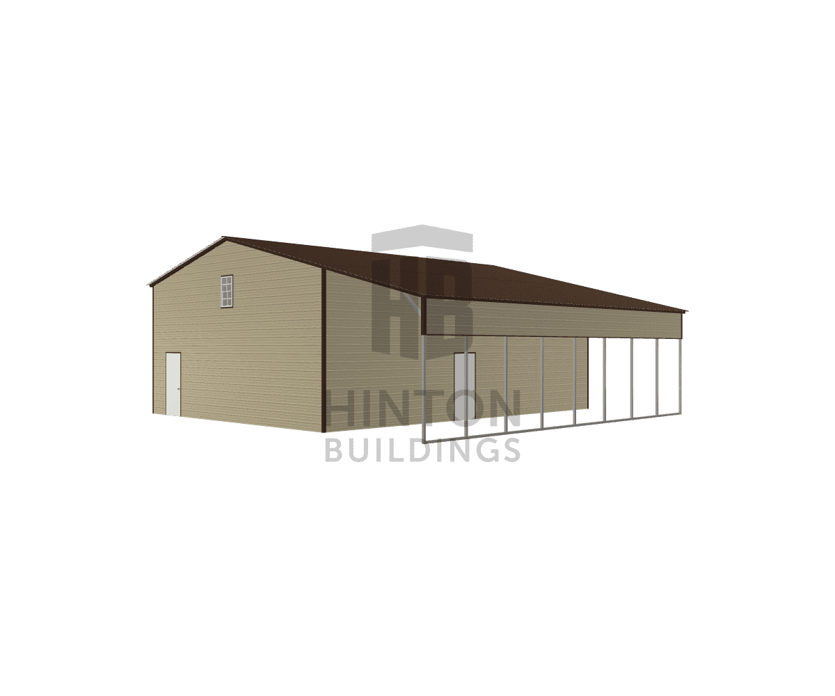 Matthew from Princeton, NC designed this 30,12x40,40x14,11 building with our 3D Building Designer.
