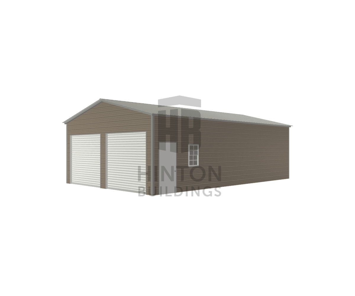 Erick from Deep Run, NC designed this 22x35x10 building with our 3D Building Designer.