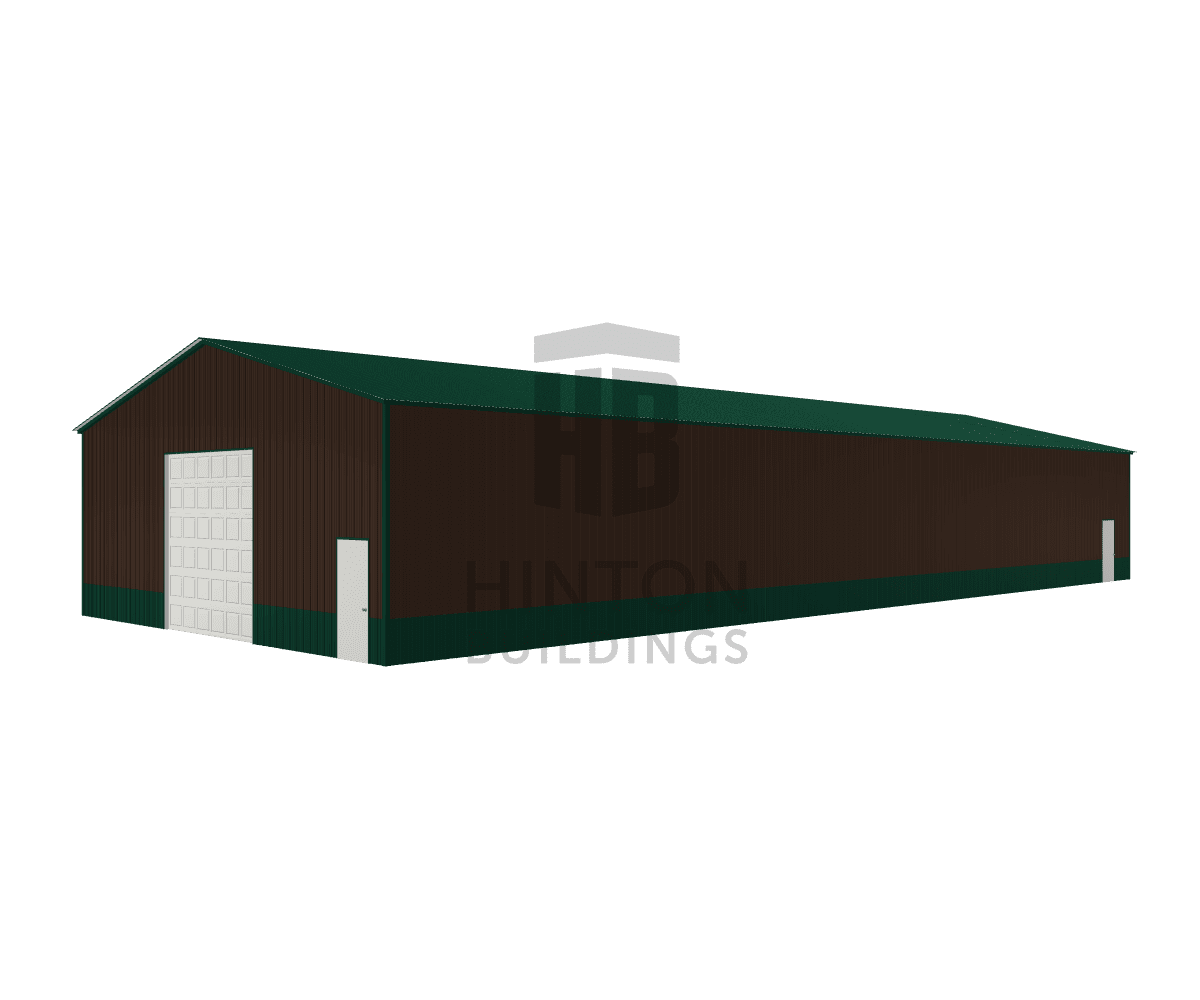 William from Benson, NC designed this 40x100x14 building with our 3D Building Designer.