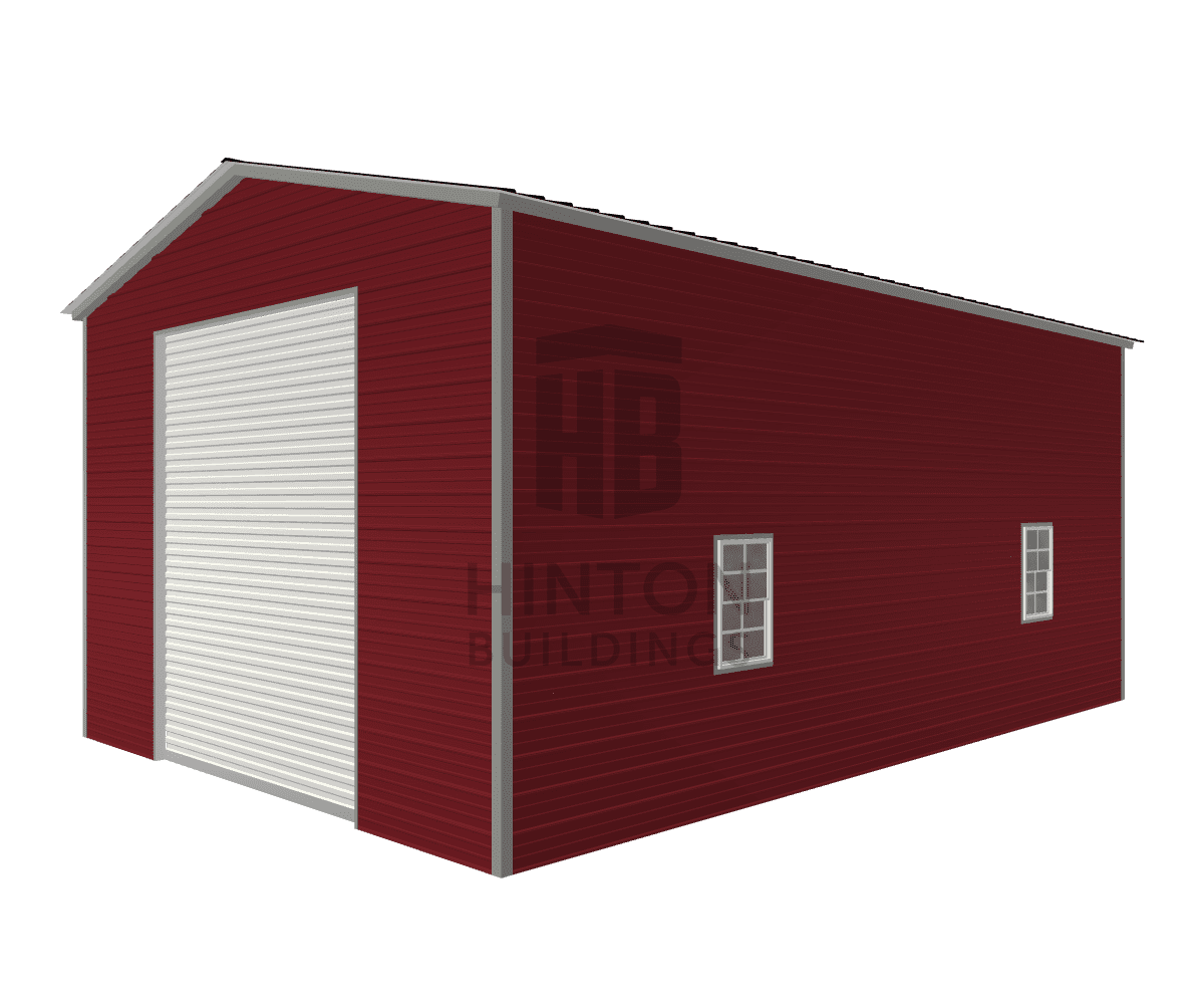 Troy from Fuquay Varina, NC designed this 20x30x13 building with our 3D Building Designer.