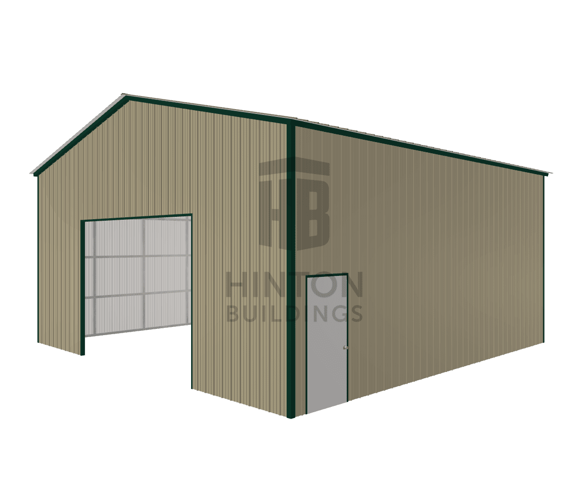 Josh from Seven Springs , NC designed this 30x30x14 building with our 3D Building Designer.