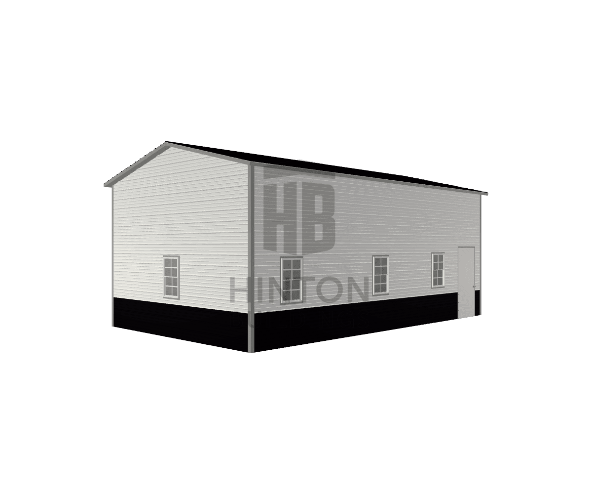Celso from Clayton, NC designed this 18x30x12 building with our 3D Building Designer.