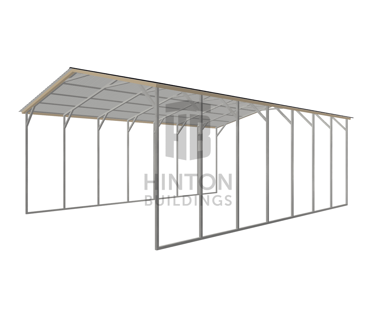Lorri from HOPE MILLS, NC designed this 24x35x12 building with our 3D Building Designer.