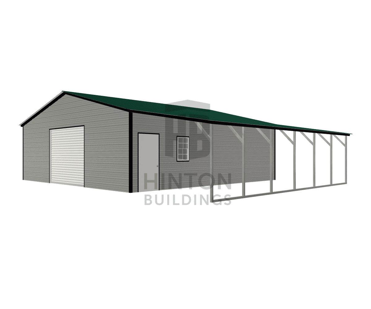 Eddie from Fayetteville, NC designed this 30,12x30,30x9,7 building with our 3D Building Designer.