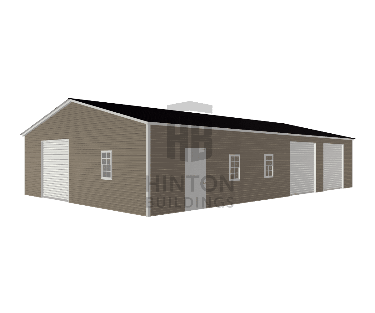 Scott from Seven Springs, NC designed this 30x50x9 building with our 3D Building Designer.