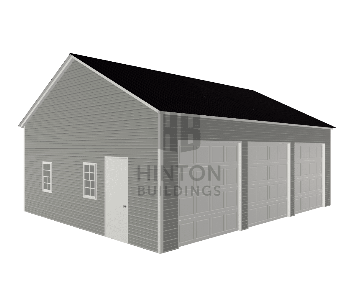 Joseph from Sanford, NC designed this 24x30x10 building with our 3D Building Designer.