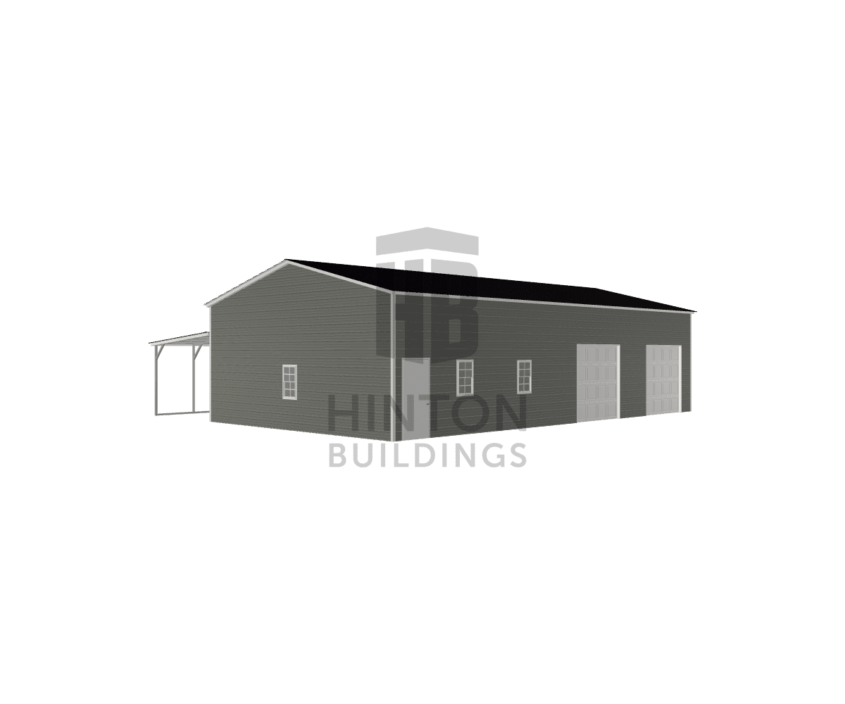 Preston from Goldsboro, NC designed this 28,12x50,50x12,8 building with our 3D Building Designer.