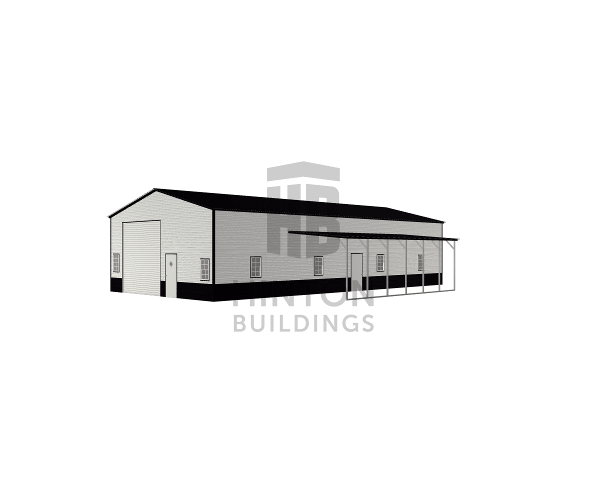Blake from Jackson Springs, NC designed this 30,12x60,30x13,9 building with our 3D Building Designer.