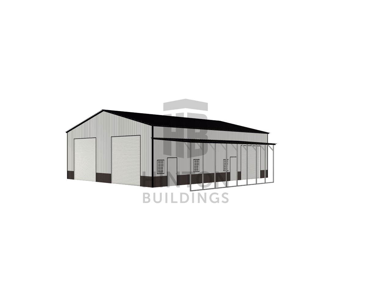 Blake from Jackson Springs, NC designed this 40,12x48,32x14,10 building with our 3D Building Designer.
