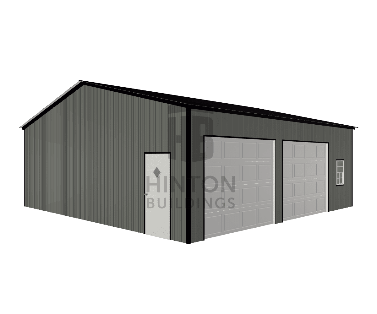 Scott from Monroe , NC designed this 30x30x10 building with our 3D Building Designer.