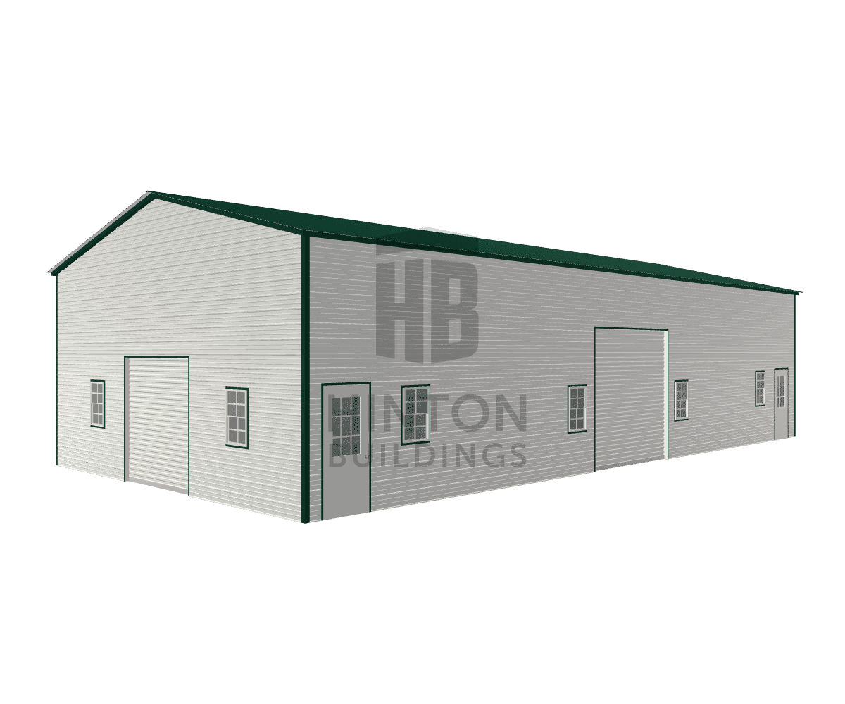 Samuel from Macclesfield , NC designed this 30x60x14 building with our 3D Building Designer.