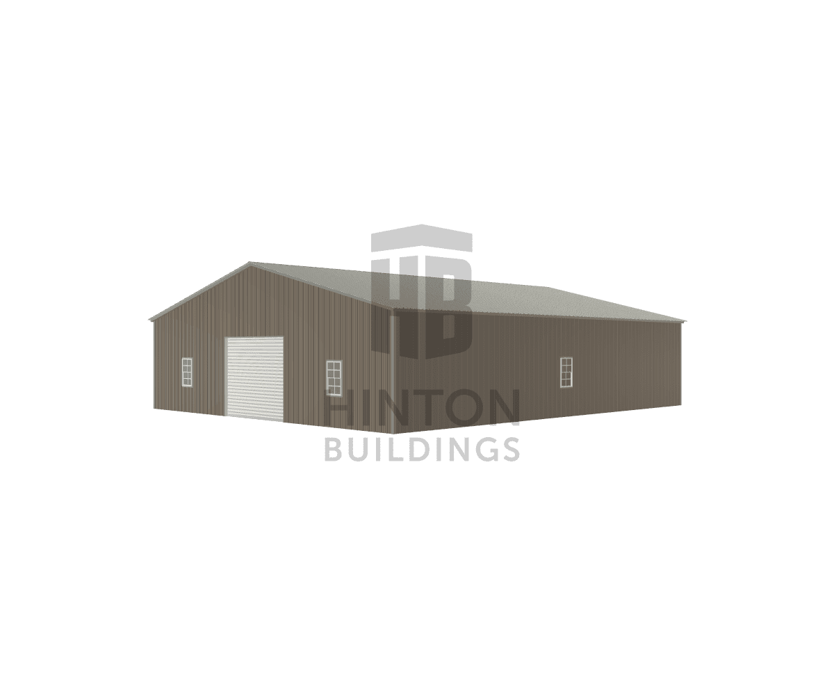 Bill from Maysville, NC designed this 40x48x10 building with our 3D Building Designer.