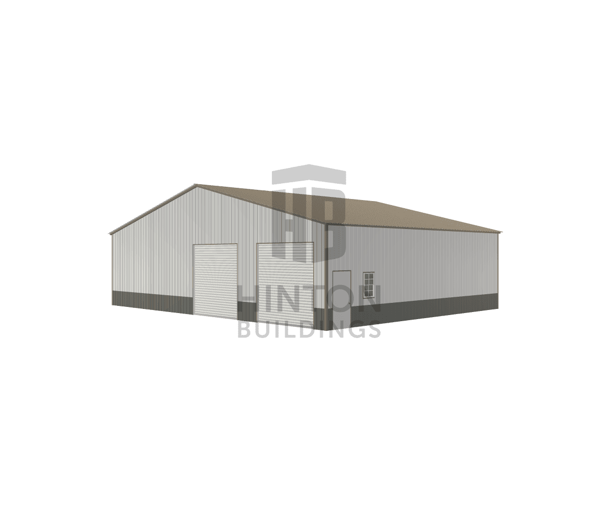 Derek from HOLLY SPRINGS, NC designed this 50x40x12 building with our 3D Building Designer.
