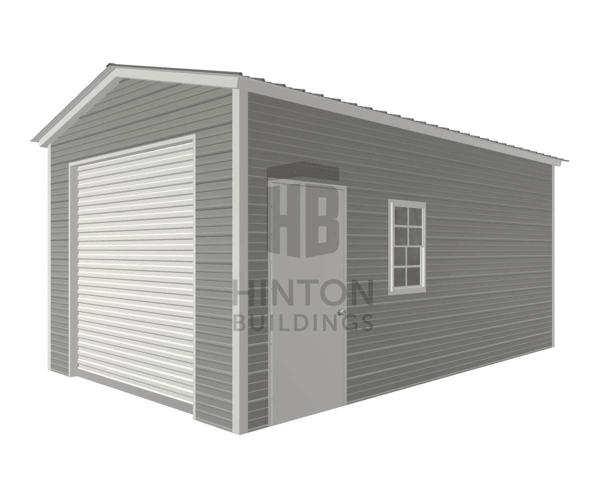 Brooke from ERWIN, NC designed this 12x20x9 building with our 3D Building Designer.