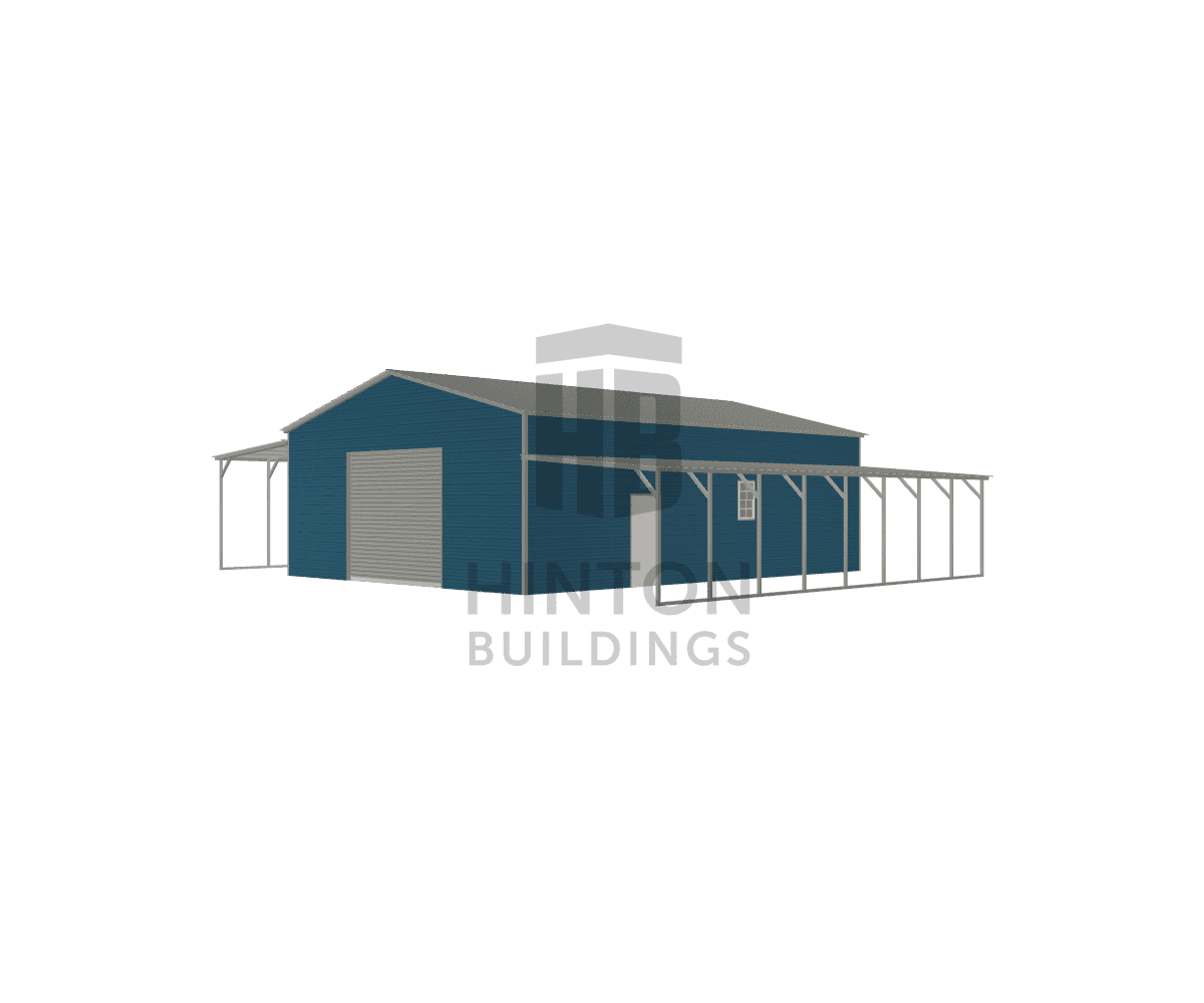 John from PIKEVILLE, NC designed this 30,12,12x40,40,40x12,10,8 building with our 3D Building Designer.