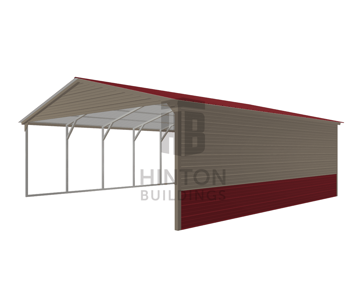 Michael from Dunn, NC designed this 24x25x8 building with our 3D Building Designer.