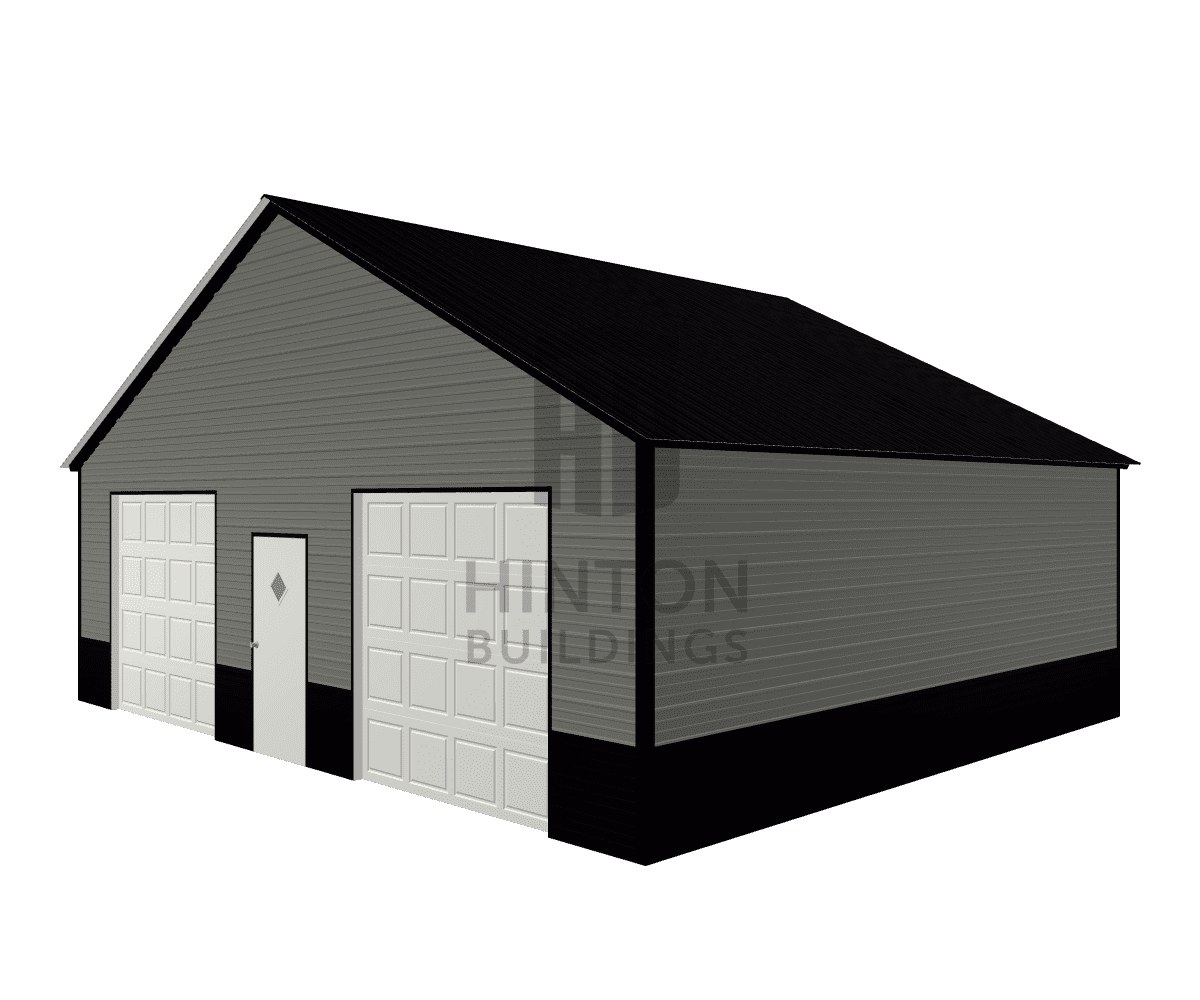 Leslie from Stanfield, NC designed this 30x25x9 building with our 3D Building Designer.